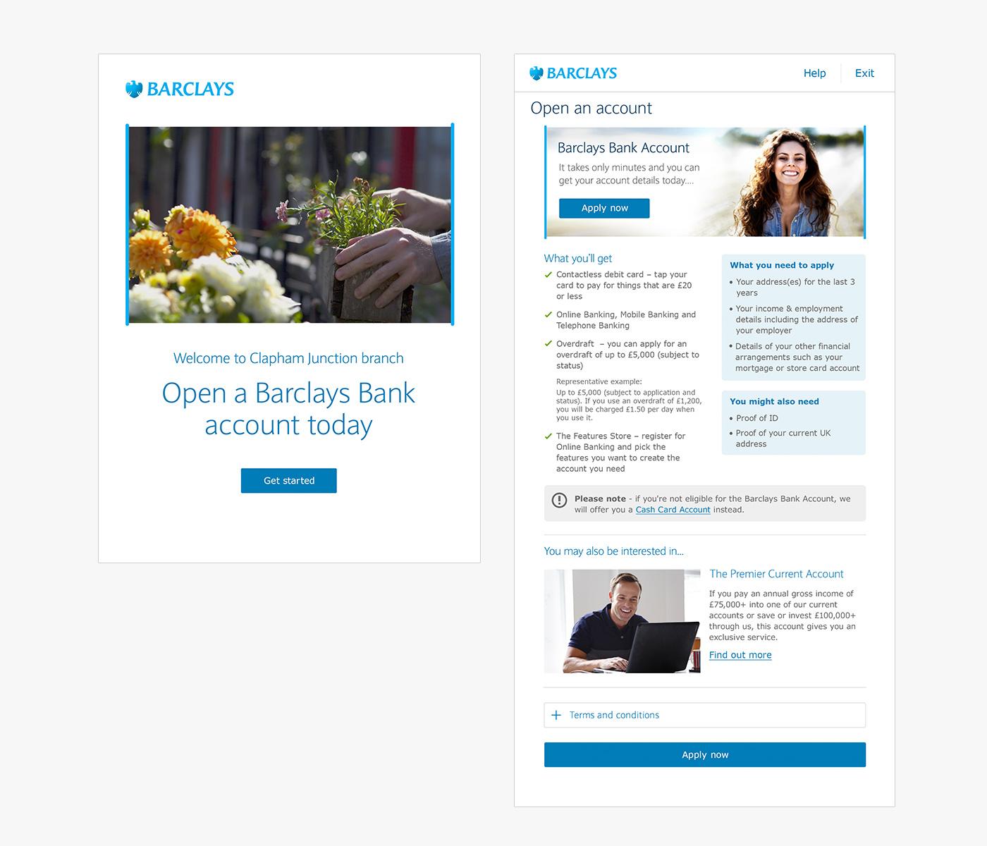 Barclays iPad App in Branch – Ambrosia UX Lab