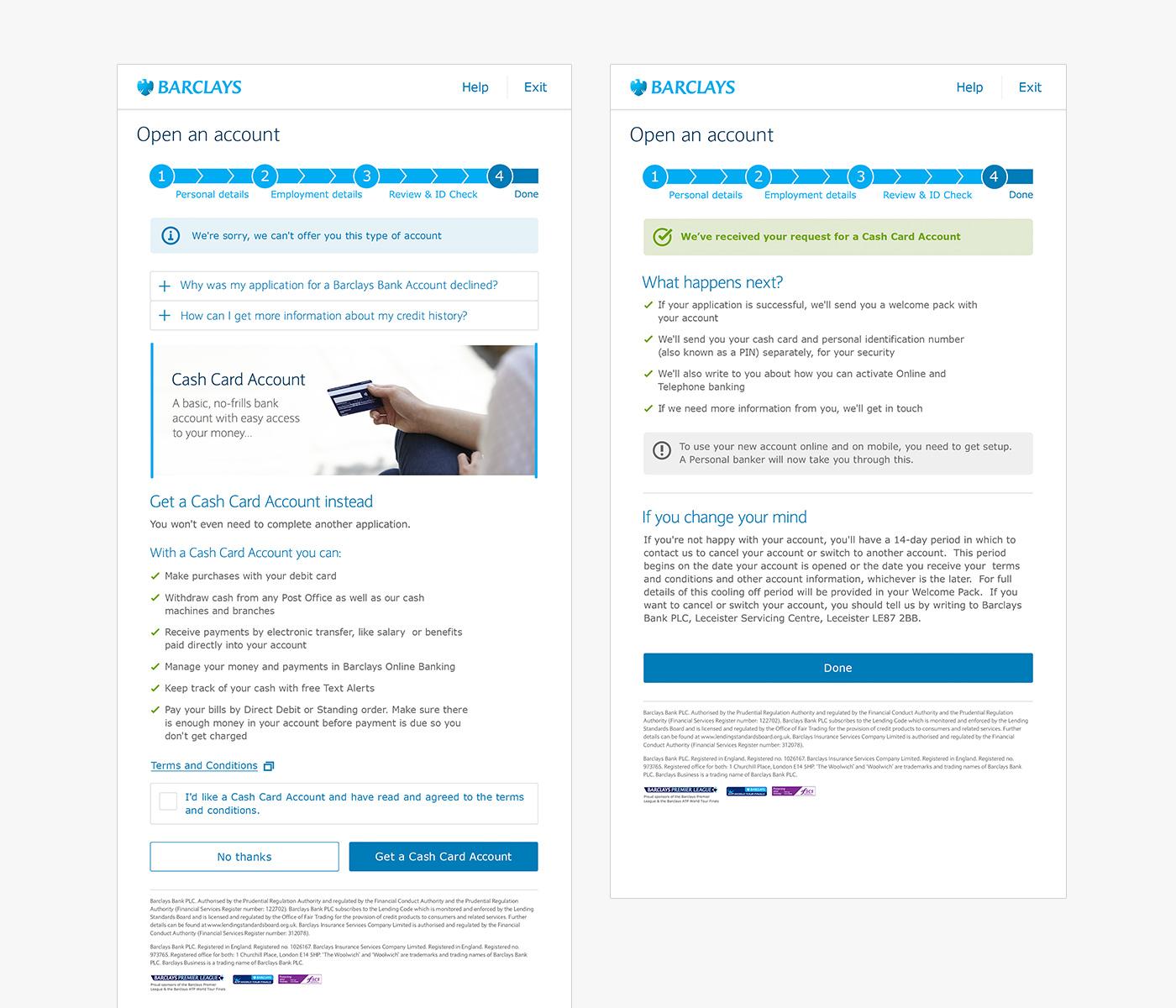 Barclays Branch App