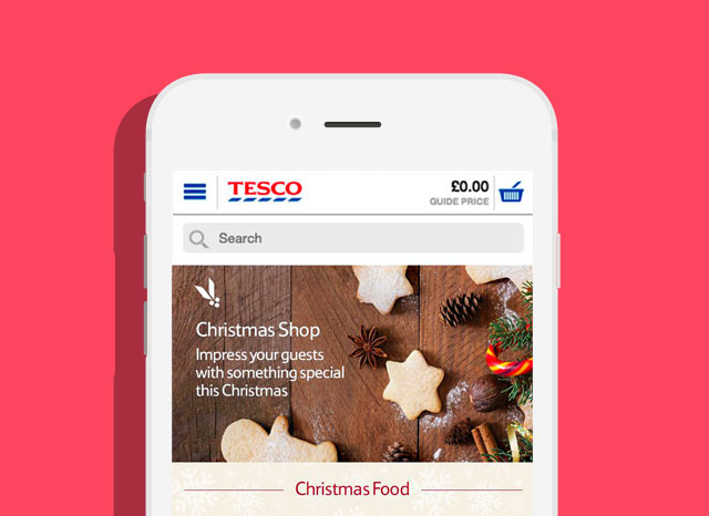 Christmas at Tesco
